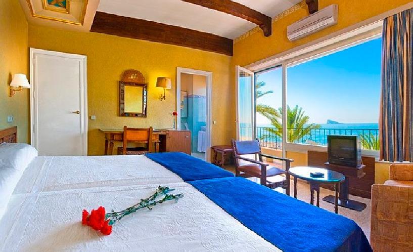 Испания бенидорм отель дельфин затока
