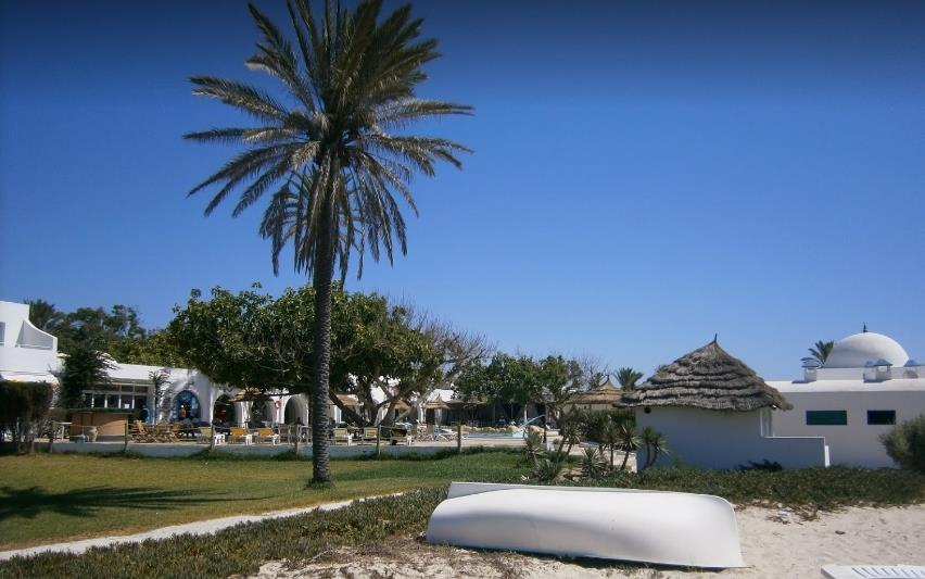 Жаркое лето в Тунисе ...