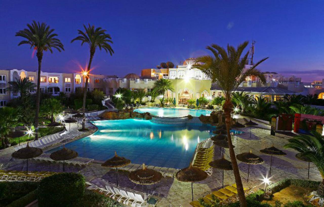 тунис джерба отель венец бич