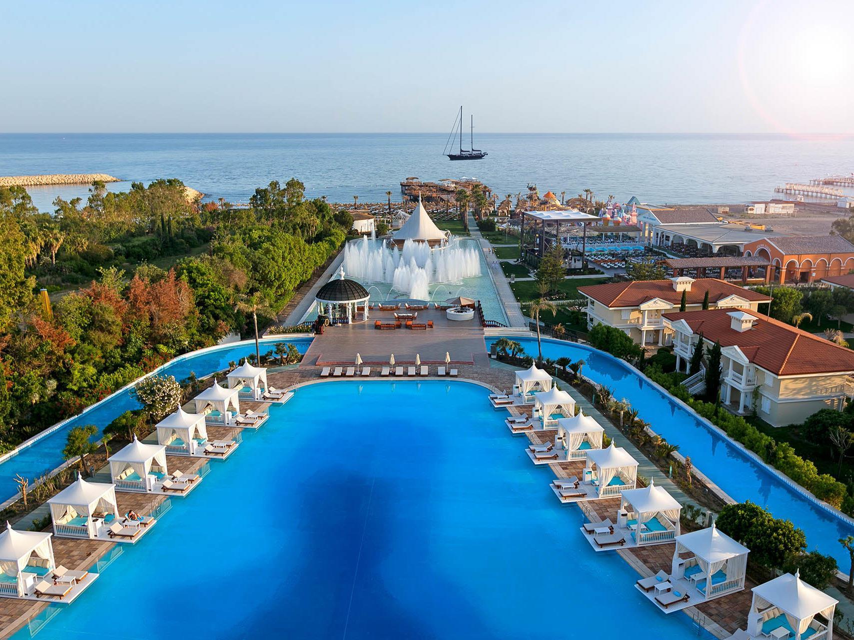 самые красивые отели турции фото обитает