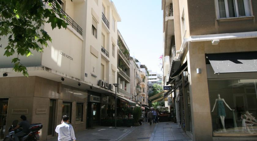 отели афин в центре города