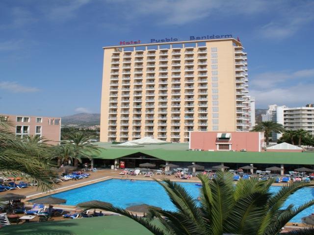 Отель бенидорм испания карта