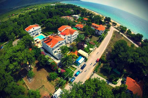 Kazaviti hotel apartments 3 о тасос