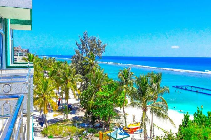 Мальдивы! Шикарный курорт в Индийском океане!
