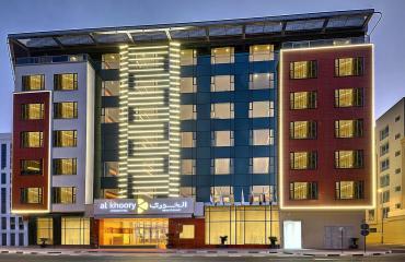 Al Khoory Atrium Hotel, Al Barsha 4*